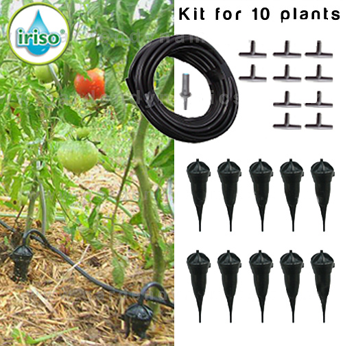 iriso drip feed connected automated watering system 10 pack. Black Bedroom Furniture Sets. Home Design Ideas